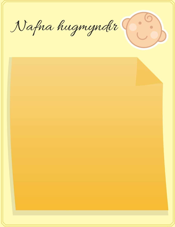 Nafna hugmyndir-1